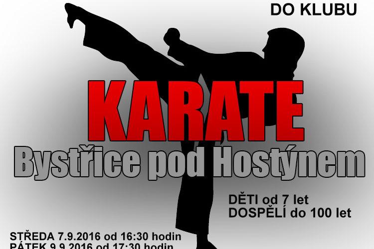 karate nábor